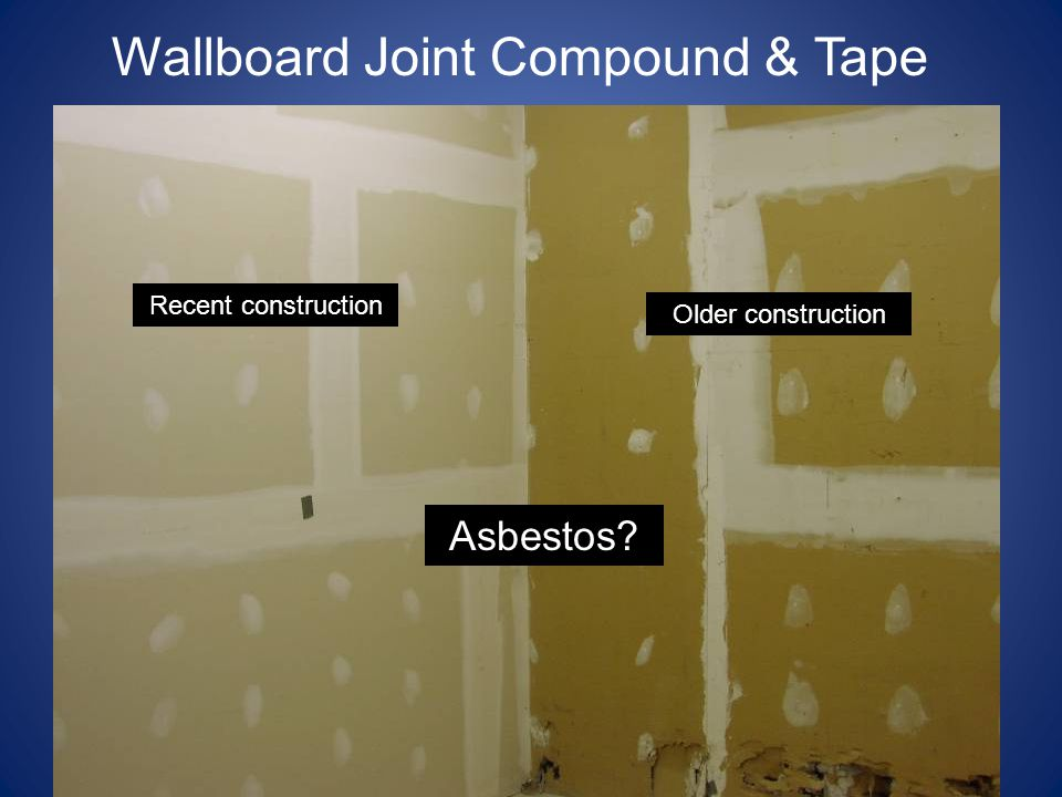 Wallboard Joint Compound & Tape