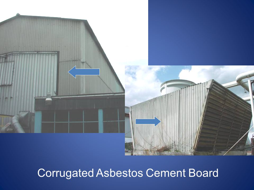 Asbestos Cement Board : Asbestos issues for facility management ppt video online