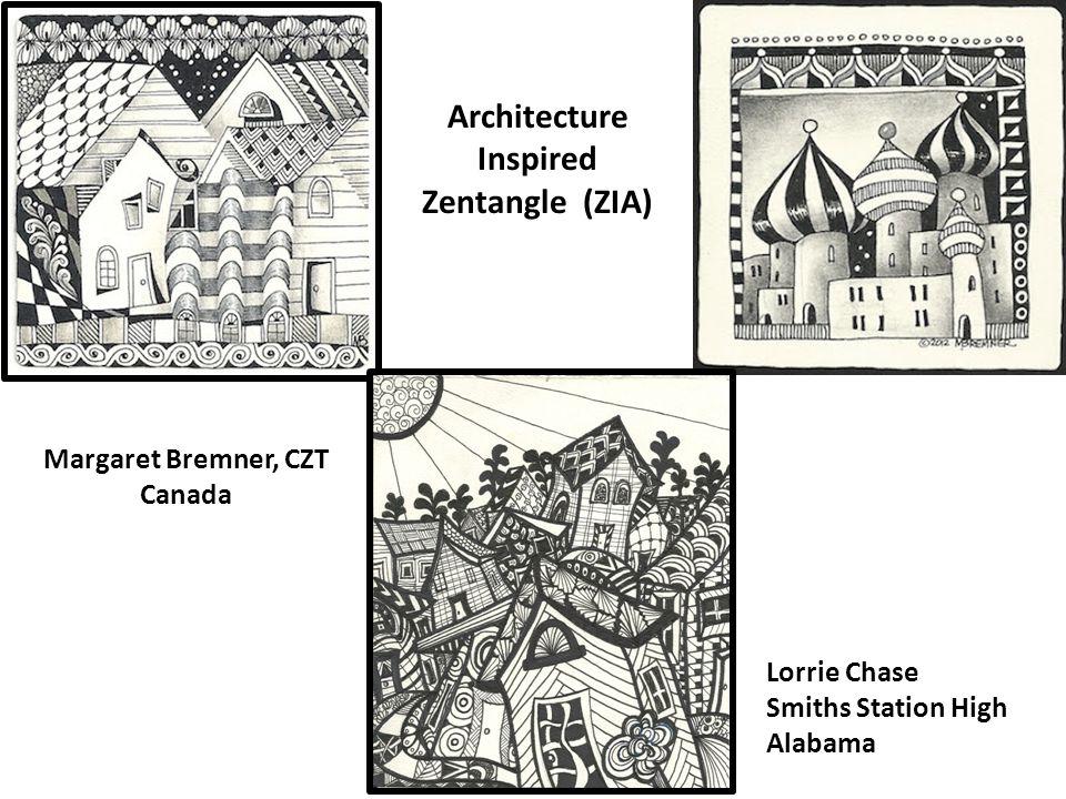 Architecture Inspired Zentangle (ZIA)