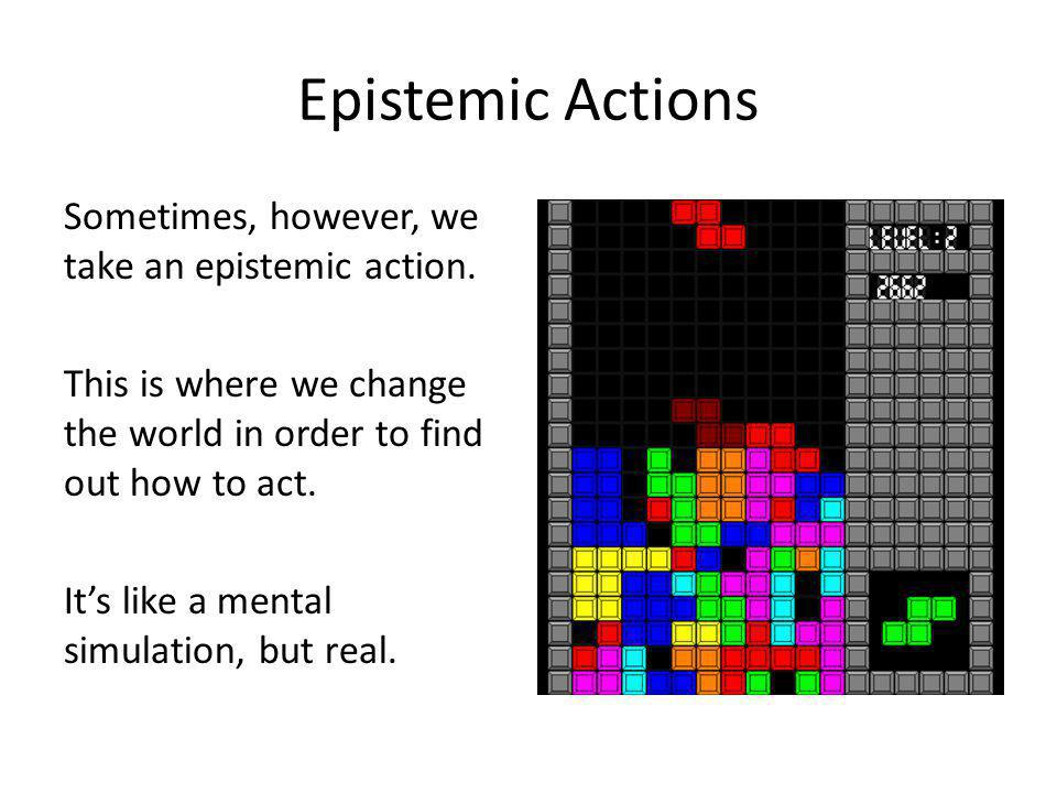 Epistemic Actions