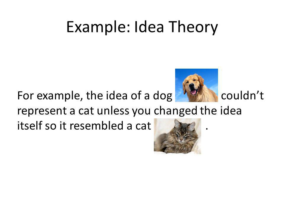 Example: Idea Theory