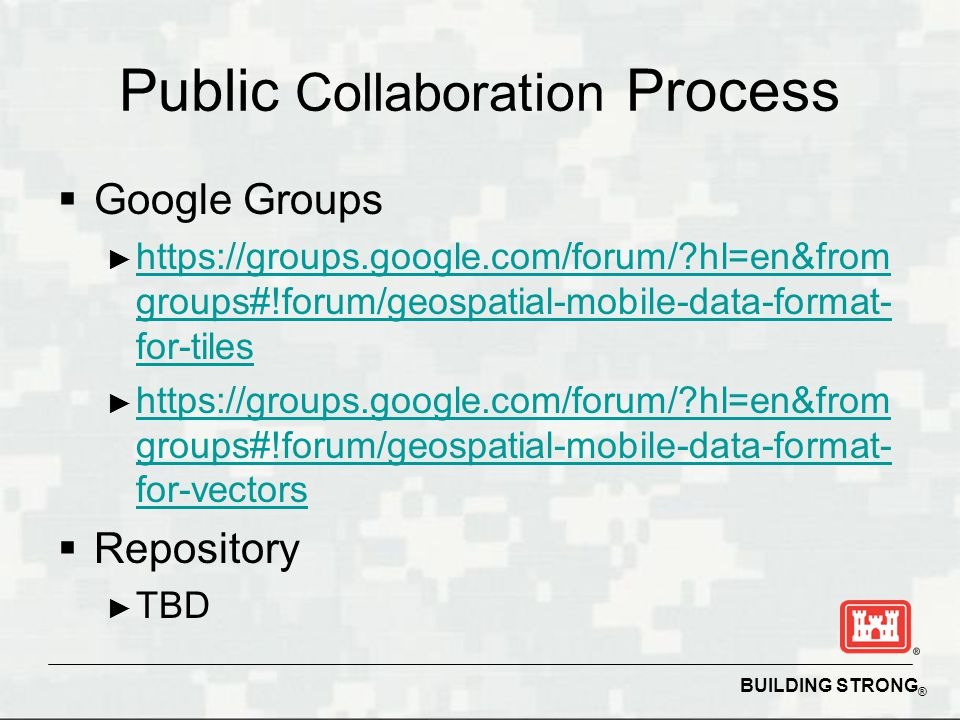 Public Collaboration Process