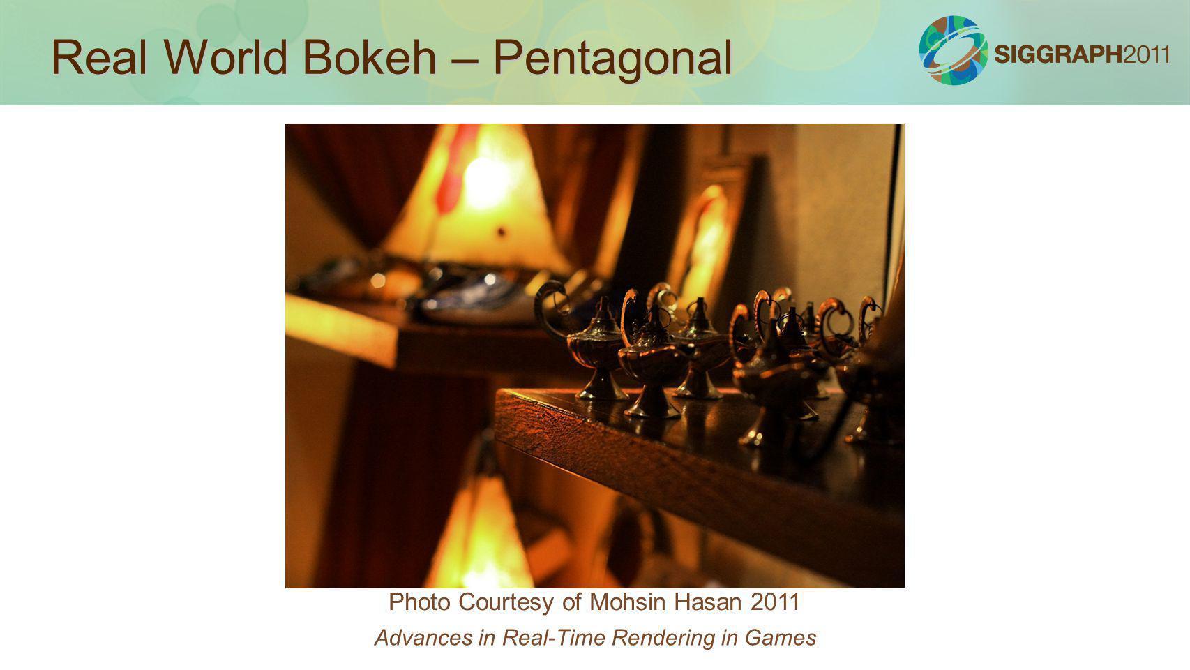 Real World Bokeh – Pentagonal