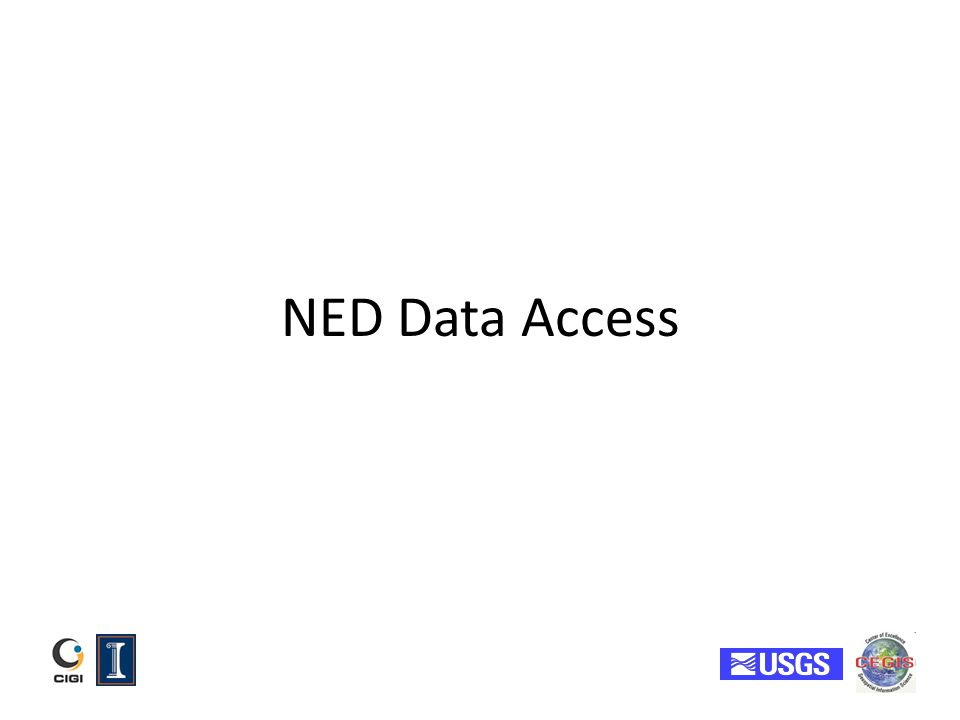 NED Data Access