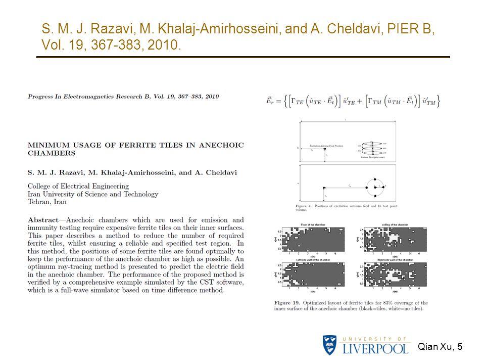 S. M. J. Razavi, M. Khalaj-Amirhosseini, and A. Cheldavi, PIER B, Vol