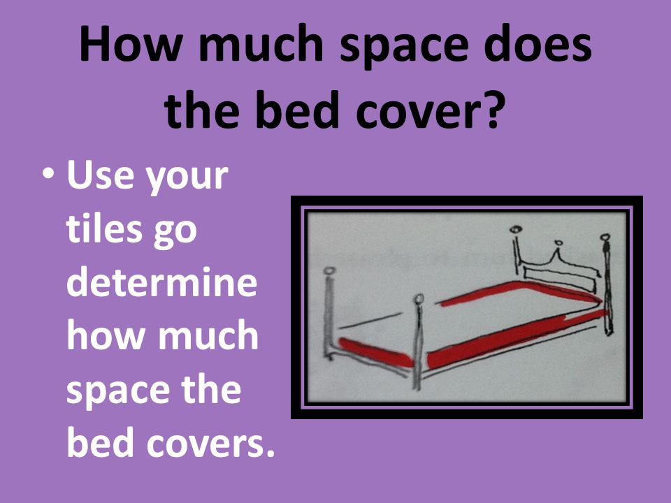How much space does the bed cover