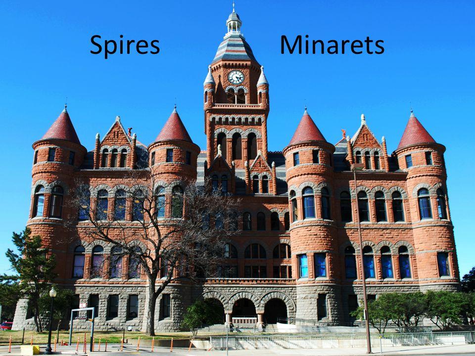 Spires Minarets