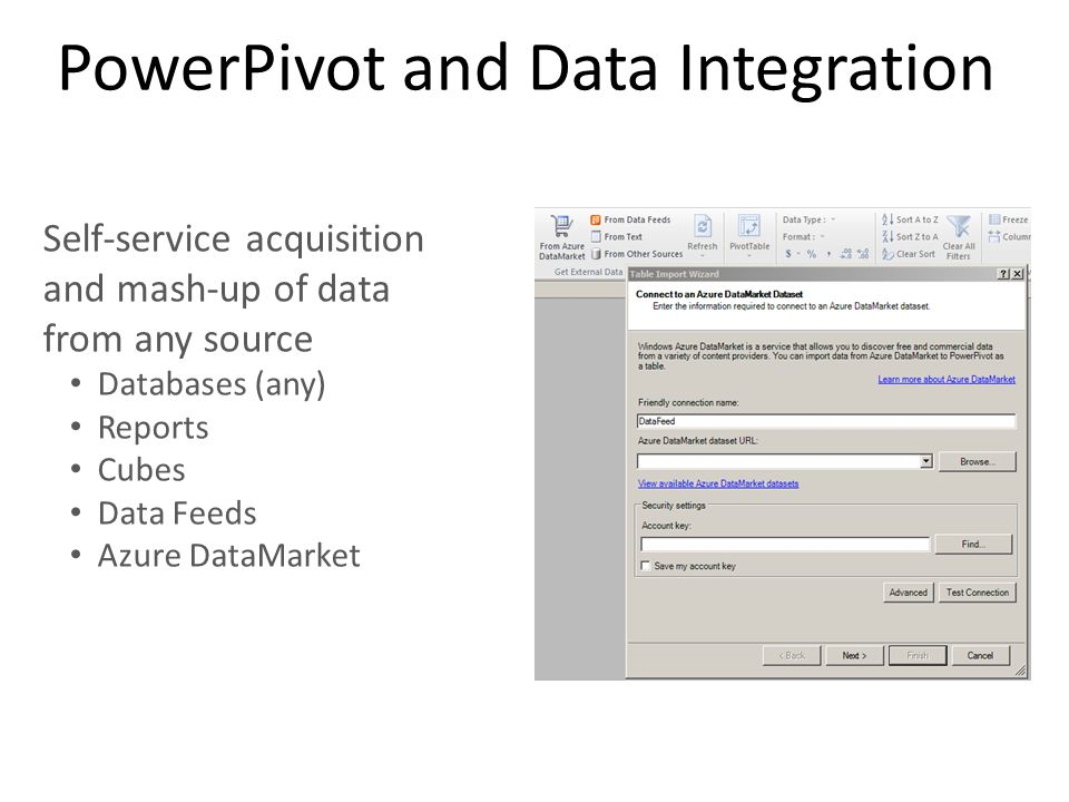 PowerPivot and Data Integration