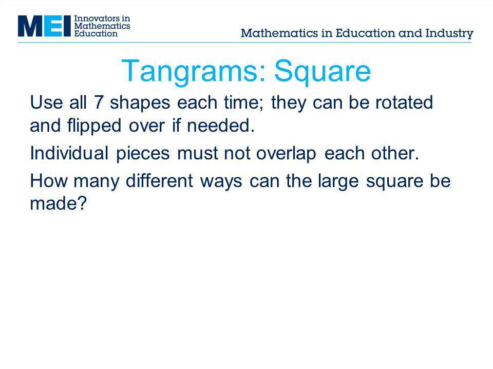Tangrams: Square