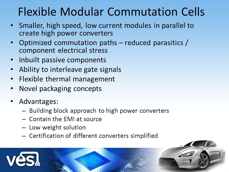 Flexible Modular Commutation Cells