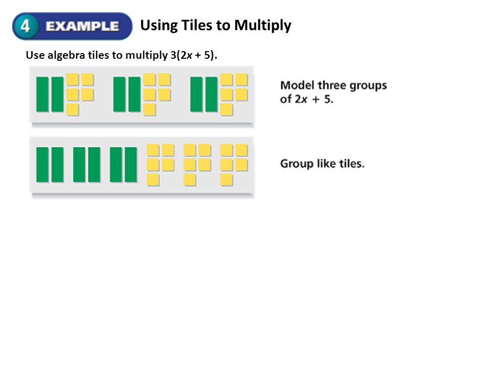 Using Tiles to Multiply