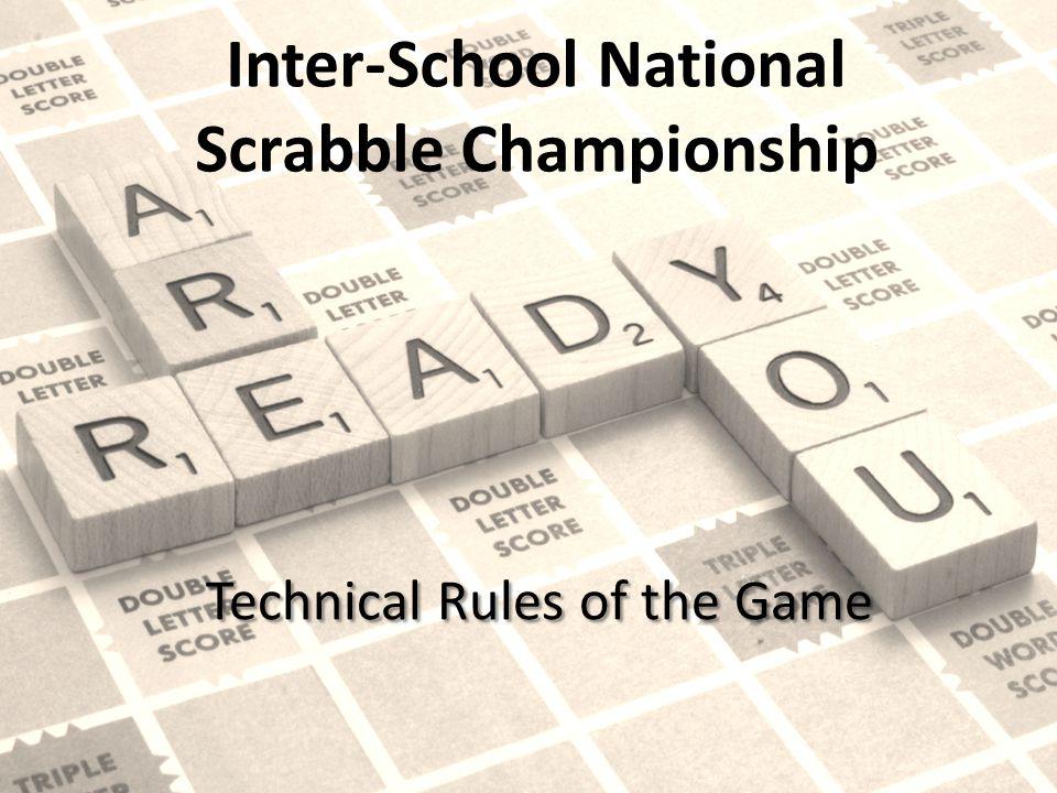 Inter-School National Scrabble Championship