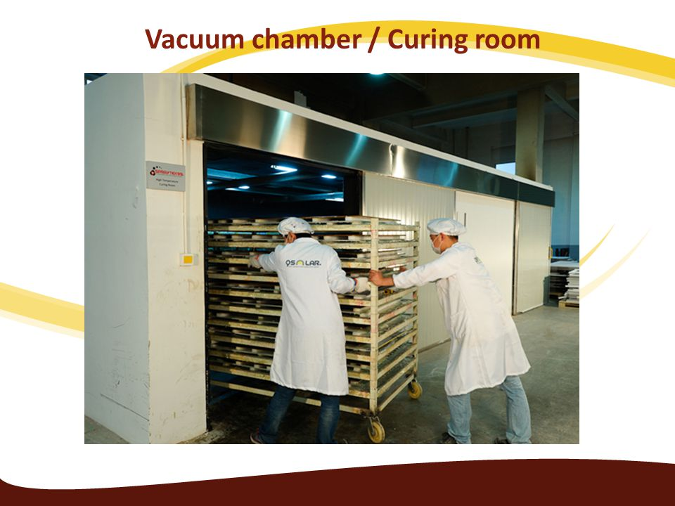 Vacuum chamber / Curing room