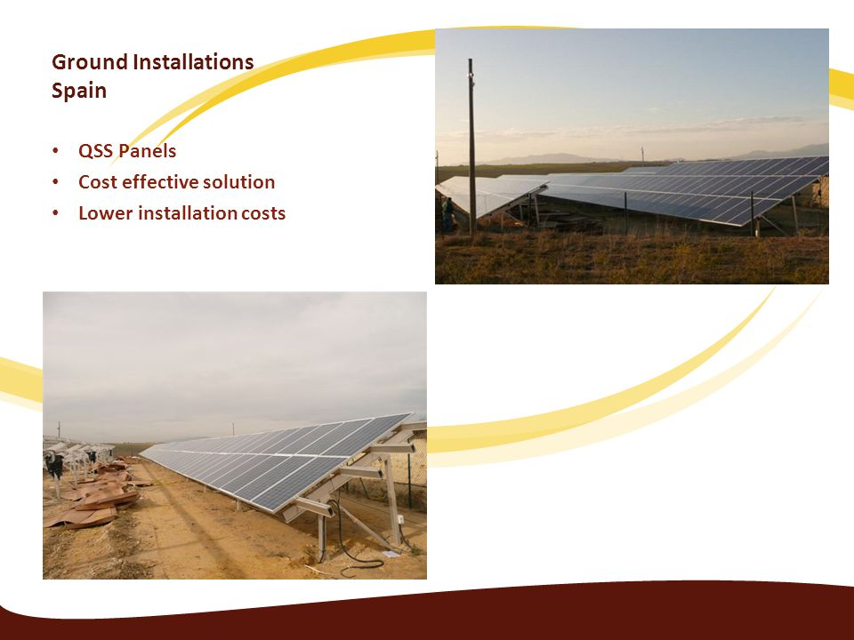 Ground Installations Spain