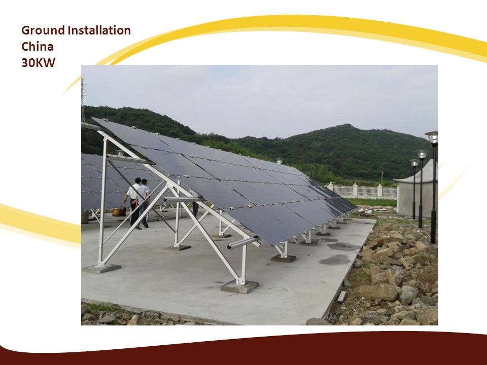 Ground Installation China 30KW