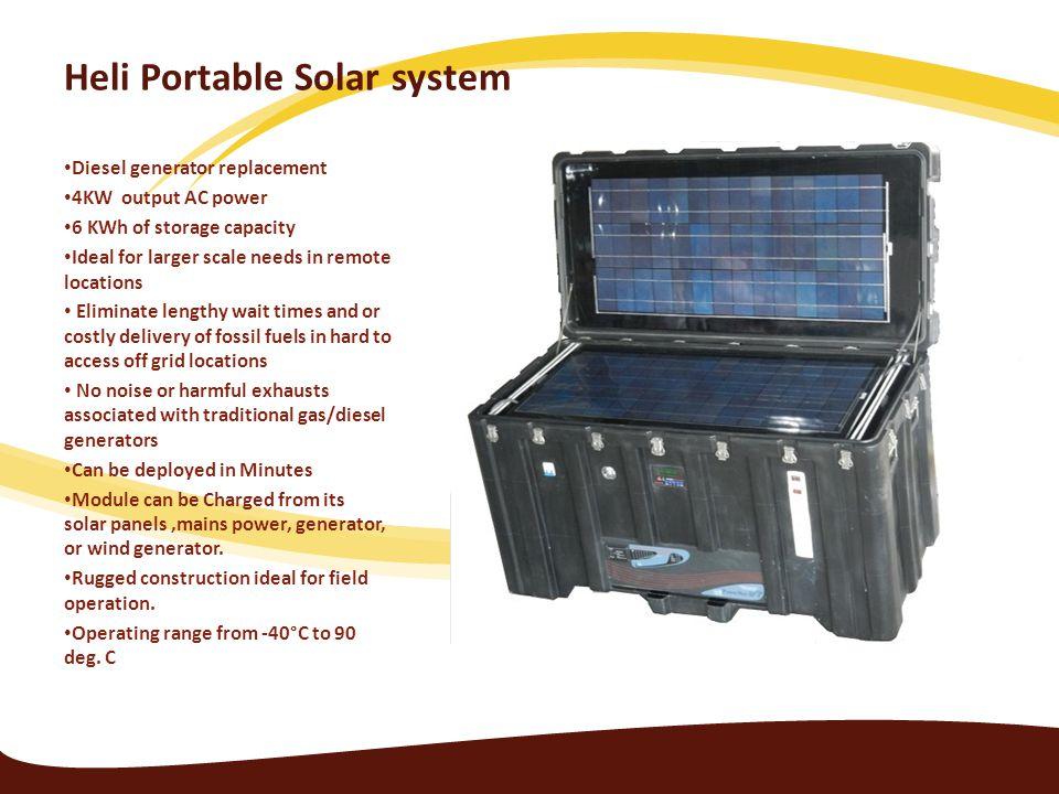 Heli Portable Solar system