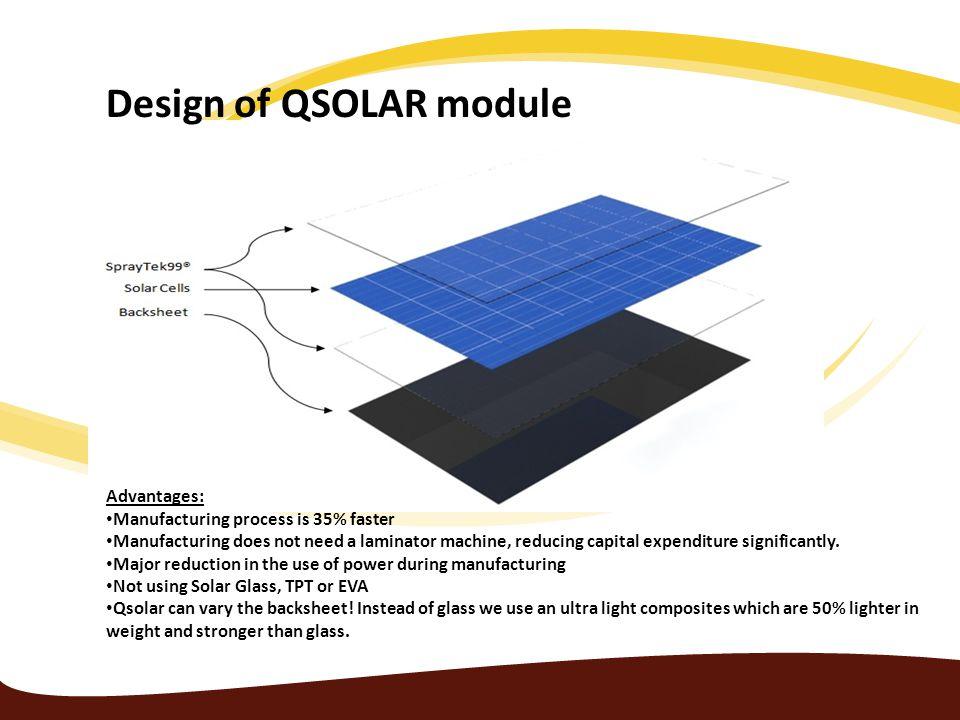Design of QSOLAR module