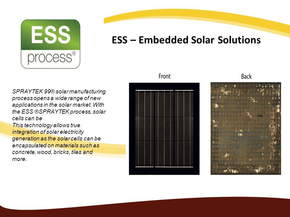 ESS – Embedded Solar Solutions