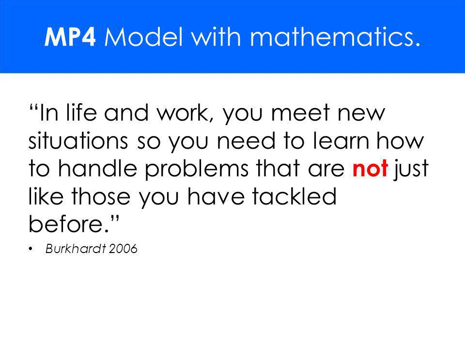 MP4 Model with mathematics.