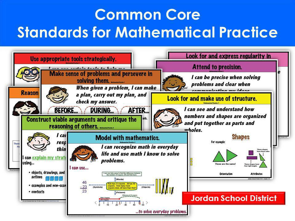 Common Core Standards for Mathematical Practice