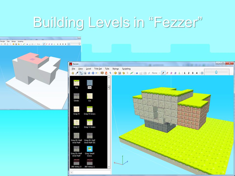 Building Levels in Fezzer
