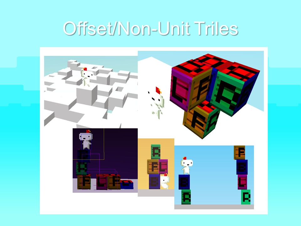 Offset/Non-Unit Triles