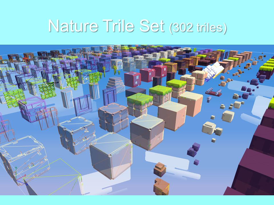Nature Trile Set (302 triles)