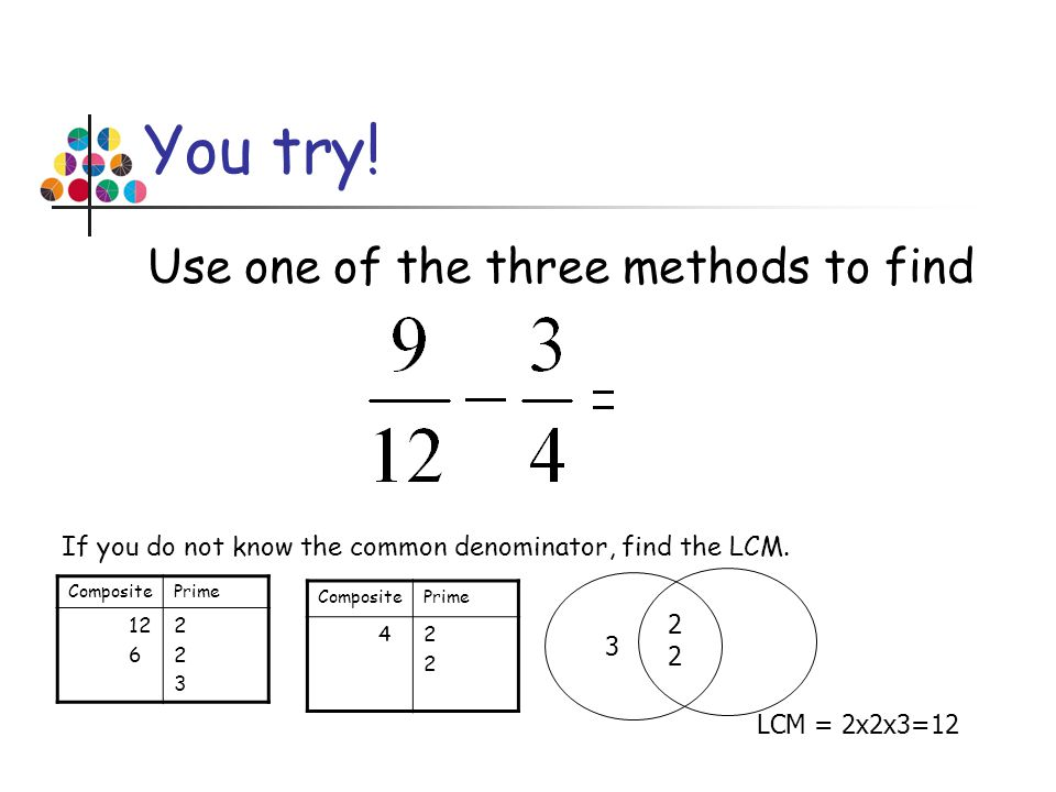 You try! Use one of the three methods to find