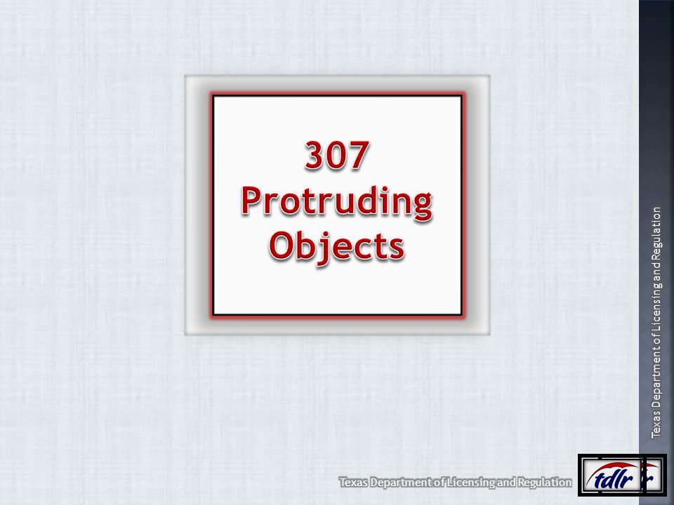 307 Protruding Objects