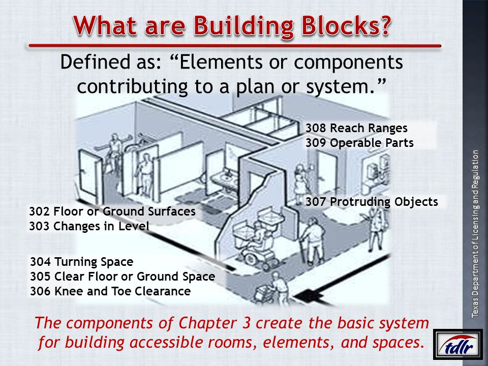 What are Building Blocks