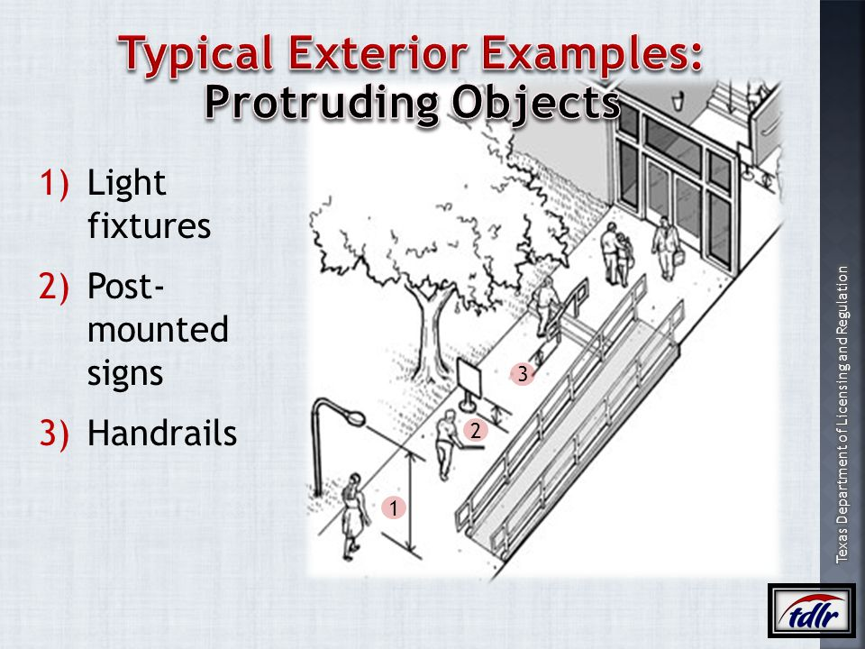 Typical Exterior Examples: