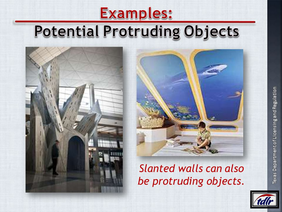 Potential Protruding Objects