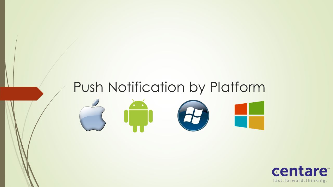 Push Notification by Platform