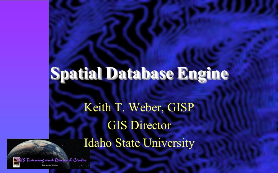 Spatial Database Engine