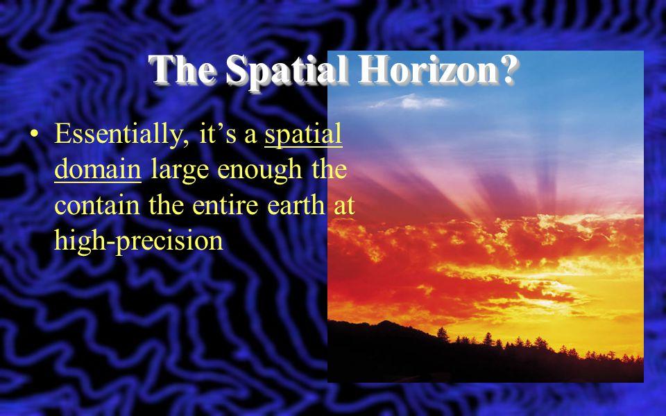 The Spatial Horizon.