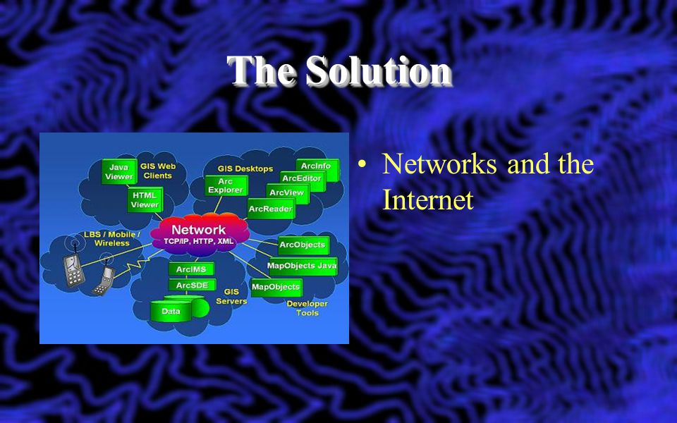 The Solution Networks and the Internet
