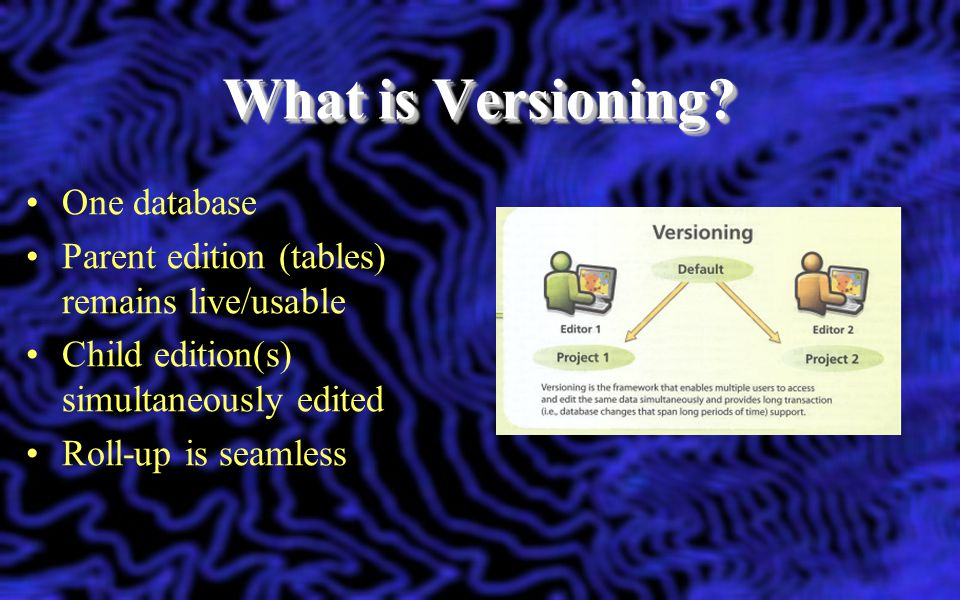 What is Versioning One database