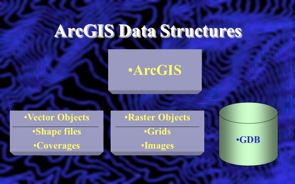 ArcGIS Data Structures
