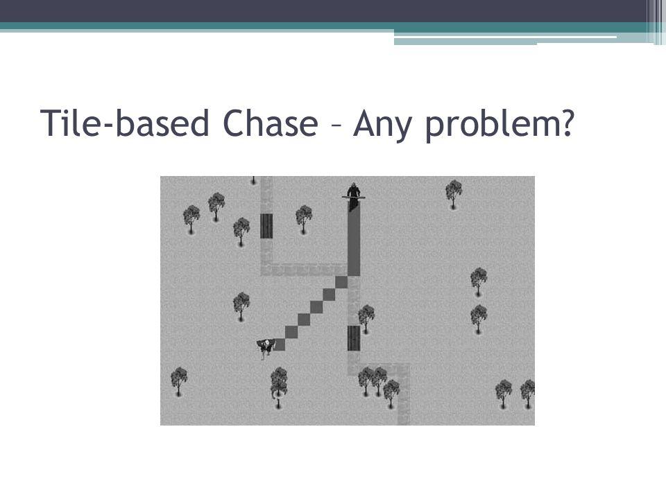 Tile-based Chase – Any problem