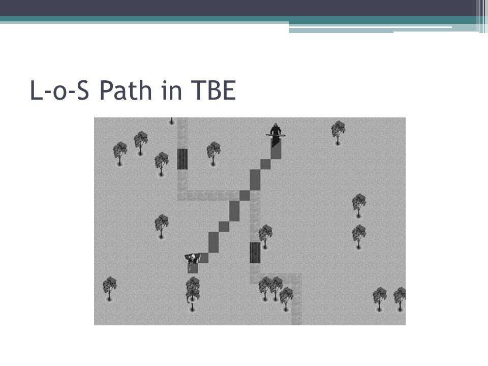 L-o-S Path in TBE