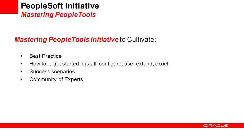 PeopleSoft Initiative
