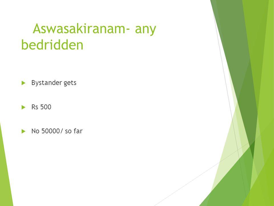 Aswasakiranam- any bedridden
