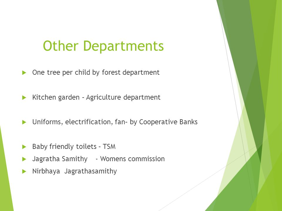 Other Departments One tree per child by forest department