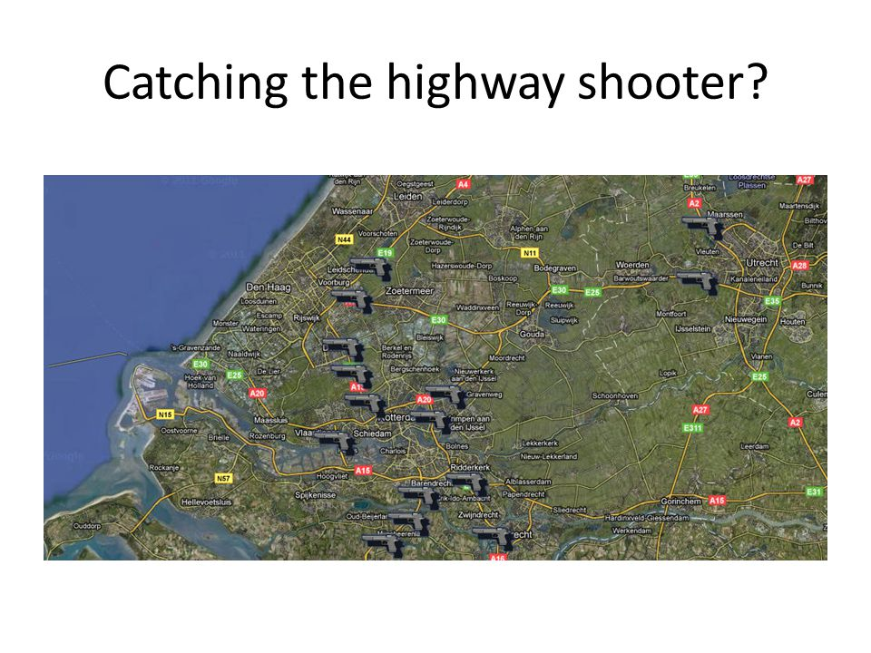Catching the highway shooter