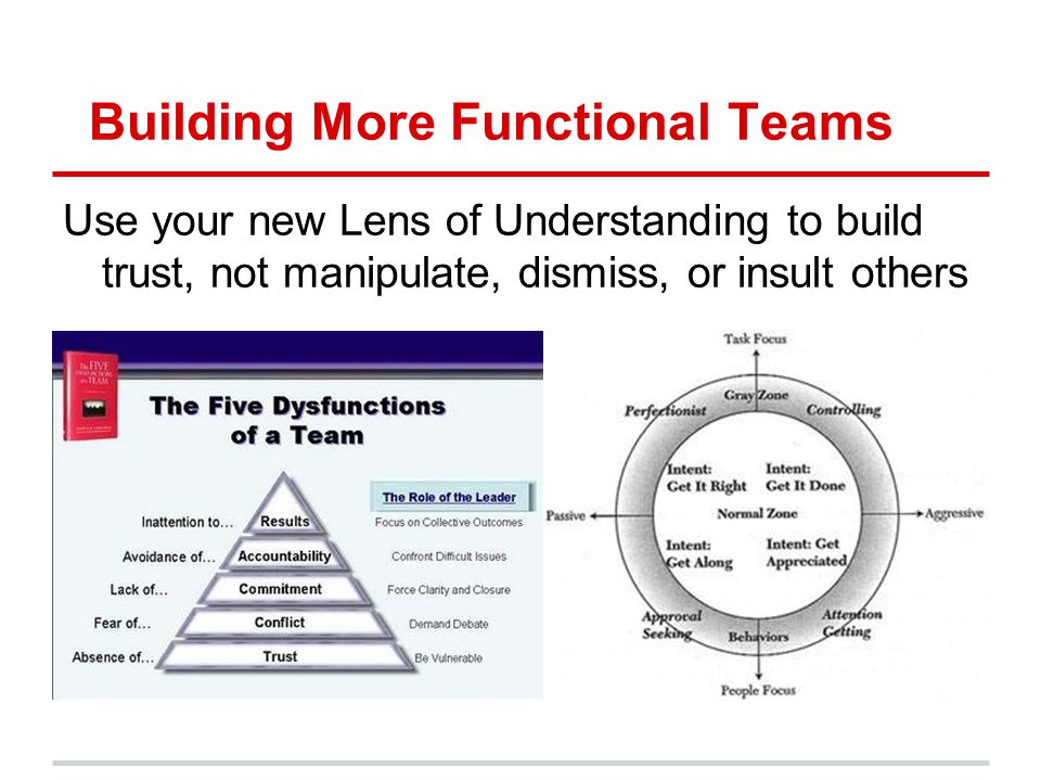 Building More Functional Teams