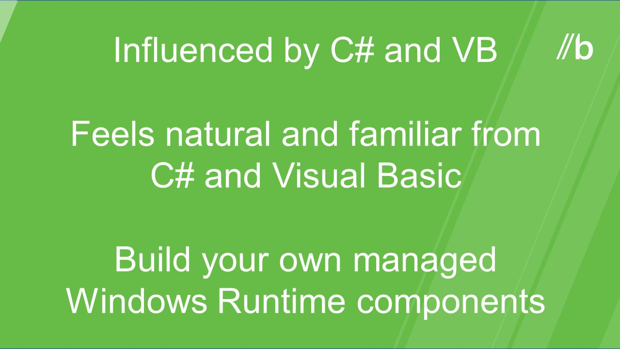 Build your own managed Windows Runtime components