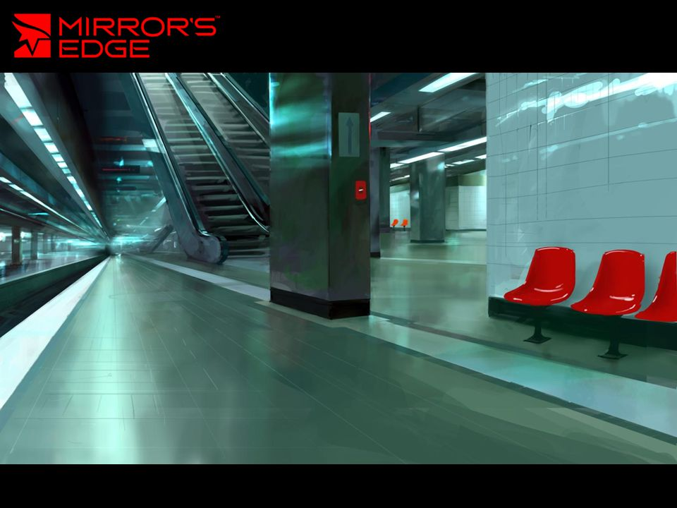 Mirror's Edge Soft reflections