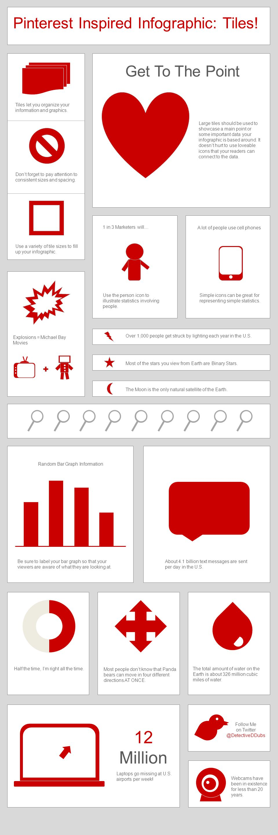 12 Million Pinterest Inspired Infographic: Tiles! Get To The Point