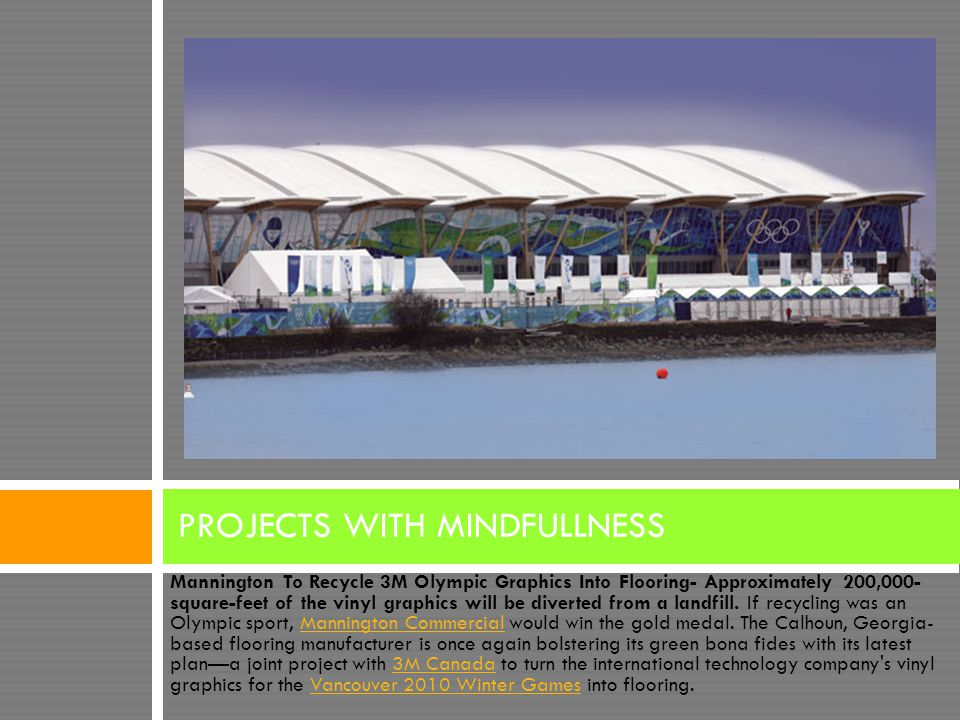 PROJECTS WITH MINDFULLNESS