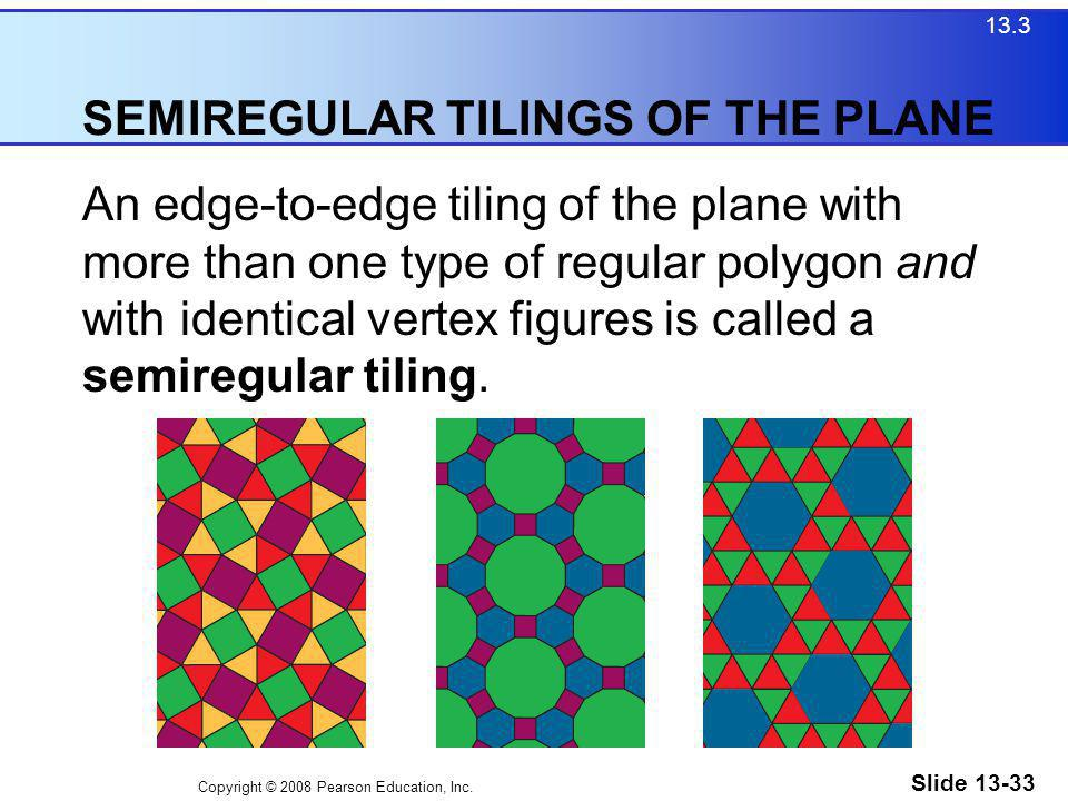 SEMIREGULAR TILINGS OF THE PLANE